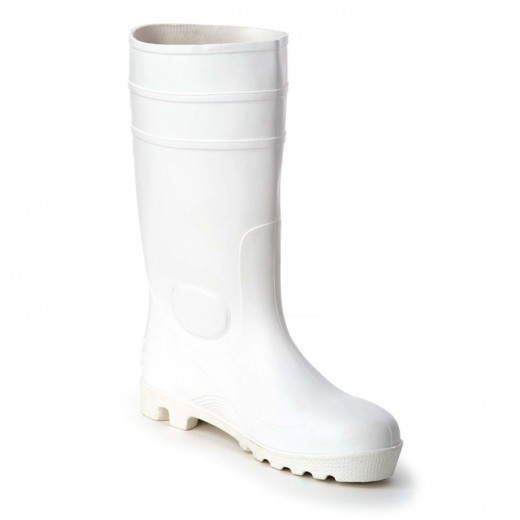 Bottes genoux blanches